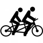 Symbol Radtour